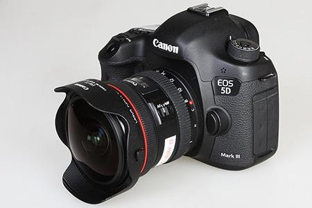 Canon EOS 5D Mark III + EF 4/8-15L FishEye USM
