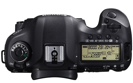 Canon EOS 5D Mark III shora