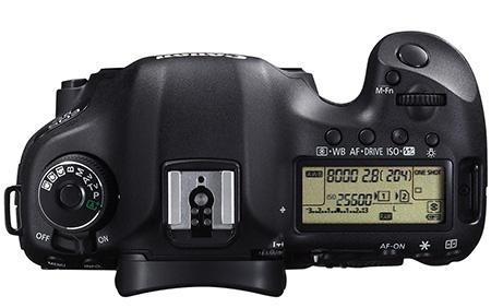 Canon EOS 5D Mark III shora