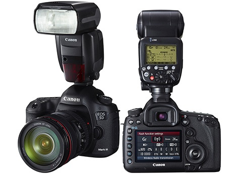 Canon EOS 5D Mark III + Speedlite 600EX-RT
